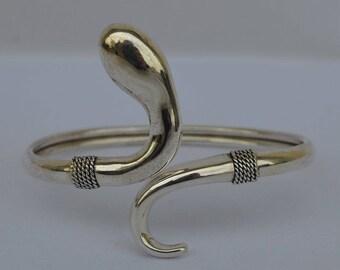 Minoan Snake Silver 925 Bracelet - Ancient Crete Greece - High Quality Item