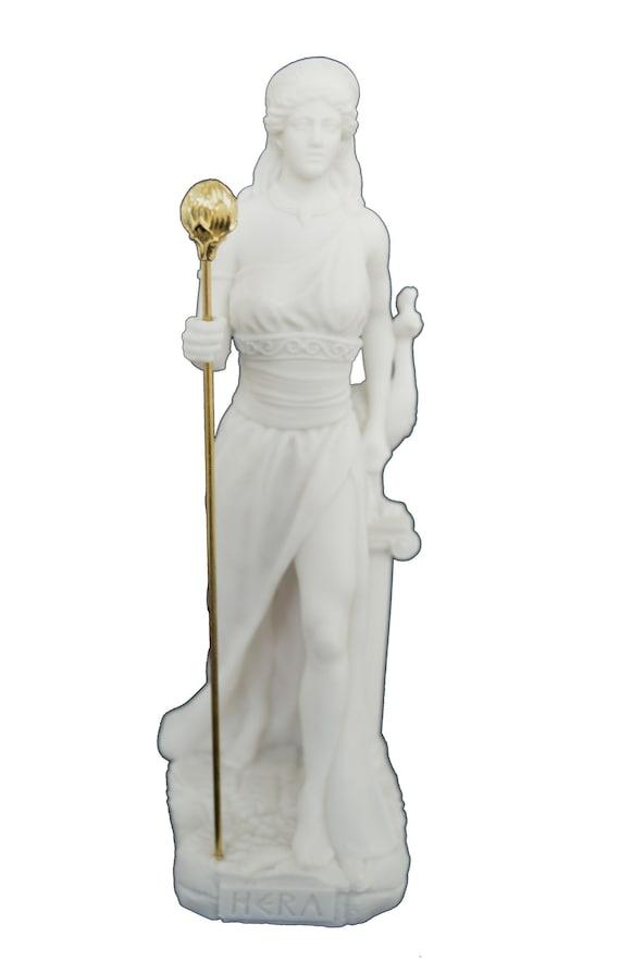 Hera Sculpture Ancient Greek Goddess Active Statue