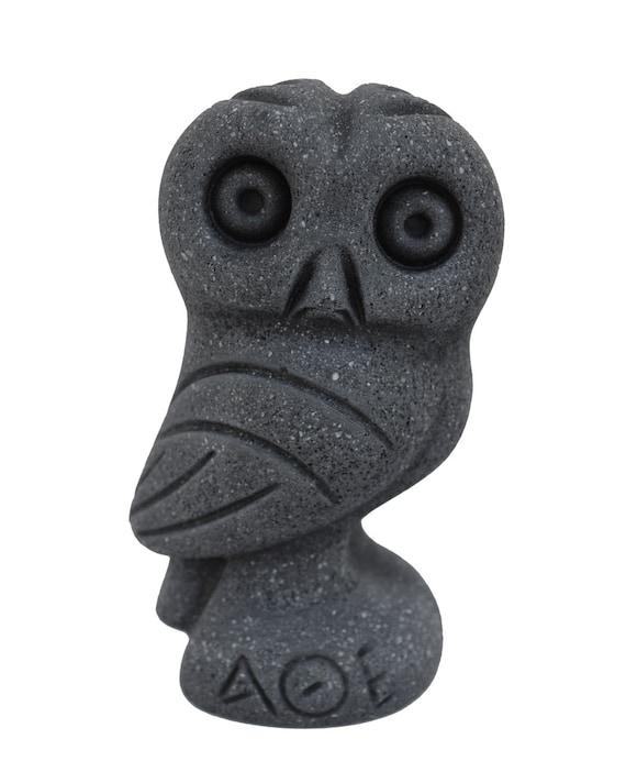 Owl sculpture Goddess Athena sacred Symbol