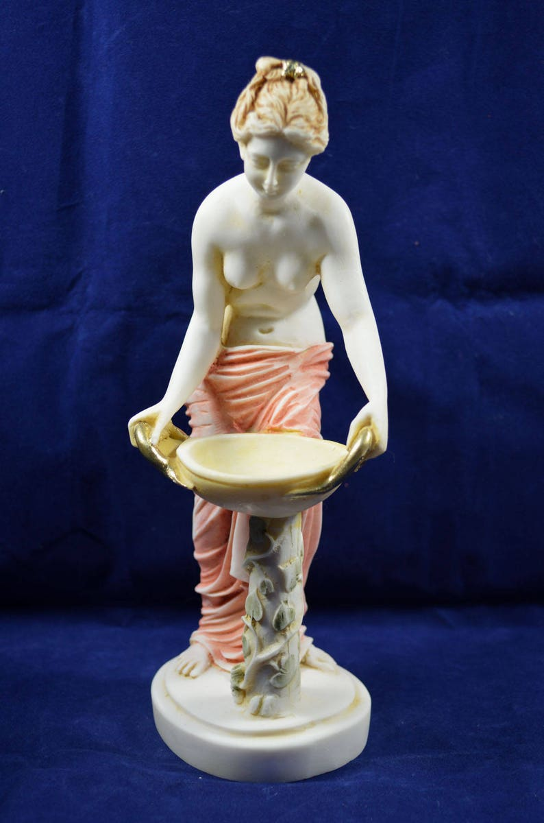 Hestia statue ancient Greek Goddess of the family and the ...