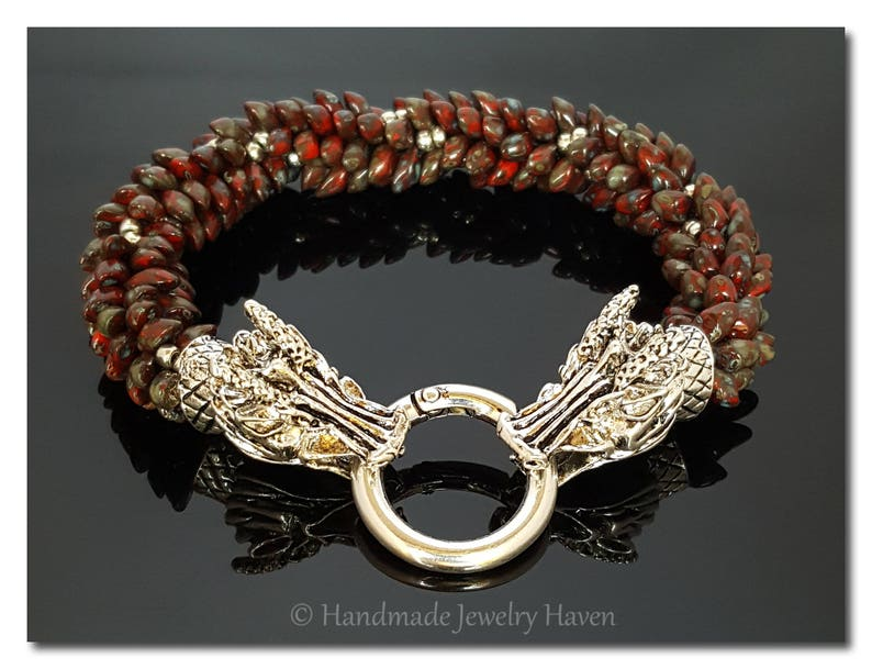 Dragon Bracelet Chinese Dragon Asian Jewelry Game of image 0