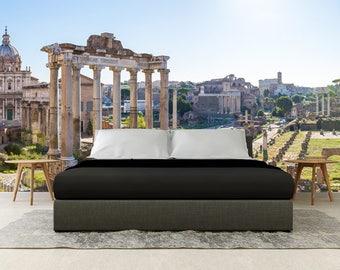 Roman Wallpaper Etsy