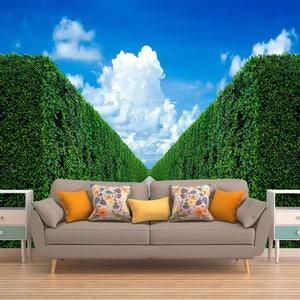 Photo Wall Covering Landmark Wall Decal Romantic Wallpaper Self Adhesive Wallpaper Removable Wall Covering Wall Mural Fountain