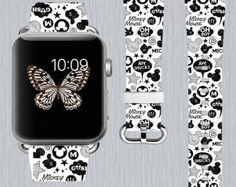 Apple watch band Genuine leather Apple Watch band 38mm Apple Watch band 42mm Iwatch band Leather Apple watch band 112