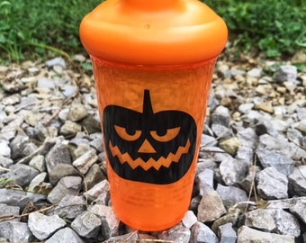 halloween sippy cup etsy