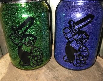 Minecraft Nightlight, Minecraft Jar Light, Mason Jar Light, Minecraft Light, Mason Jar, Nightlight, Minecraft Jar, Minecraft Room Decor