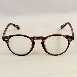 1940s Sunglasses, Glasses & Eyeglasses History Billy Unisex Faux Tortoiseshell Anti Blue Light Glasses 1930s 1940s Vintage style $14.32 AT vintagedancer.com