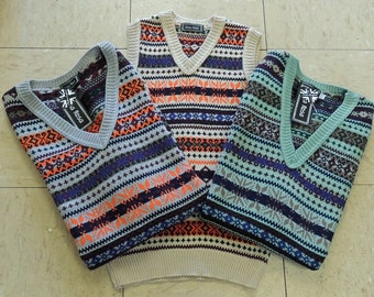 1940/'s//WARTIME//Re enactment//World Book Day KIDS KNITTED TANK TOP//PULLOVER