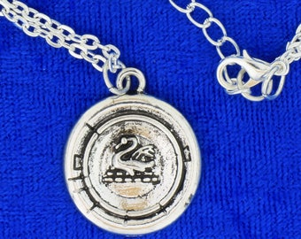 Emma Swan Princess Necklace or Keychain Once Upon a Time TV Inspired