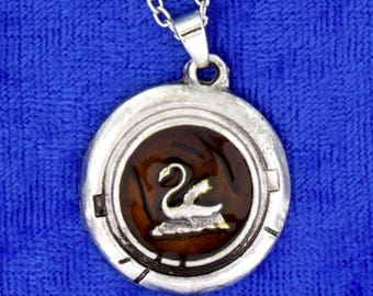 Emma Swan Princess Necklace or Keychain Black Background Once Upon a Time TV Inspired