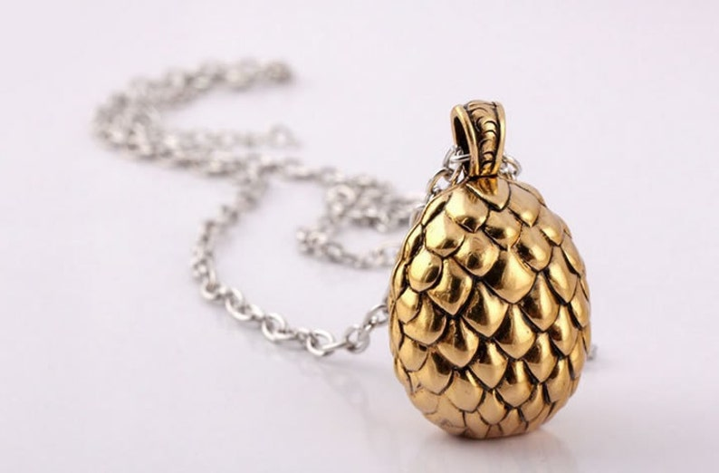Dragon Egg Necklace or Keychain Khal Drogo Magister Illyrio Mopatis Game of  Thrones Inspired