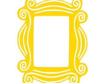 Picture Frame (Friends) - SVG, PNG Digital Download