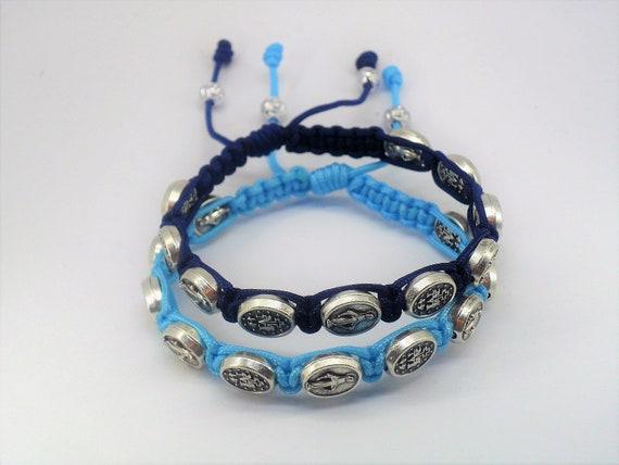 site réputé 40297 dfdfc Bracelets de la Médaille Miraculeuse, bracelets catholiques, st vierge  bracelet Marie, christian cadeau, bracelet de couples, les bijoux  religieux, ...