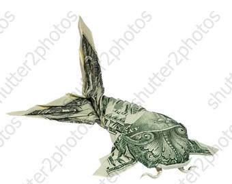 Fisch Geldschein Falten Etsy
