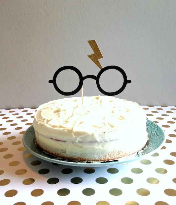 Harry Potter Inspiriert Kuchendeckel Zauberer Partei Kuchen Etsy