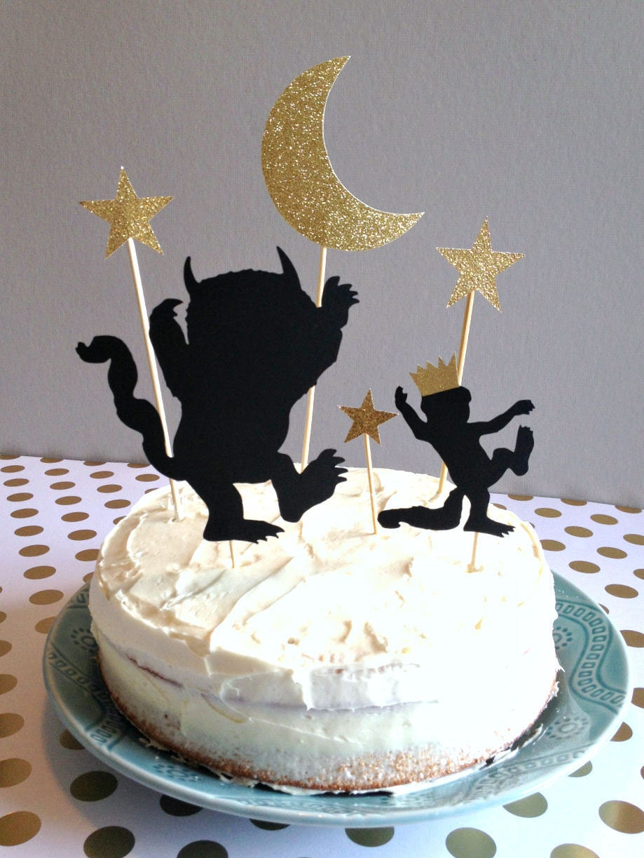Where The Wild Things Are Cake Topper Where The Wild