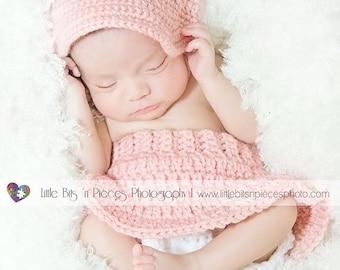 Newborn Baby GIRL PINK Baseball Cap 439dba72ba3