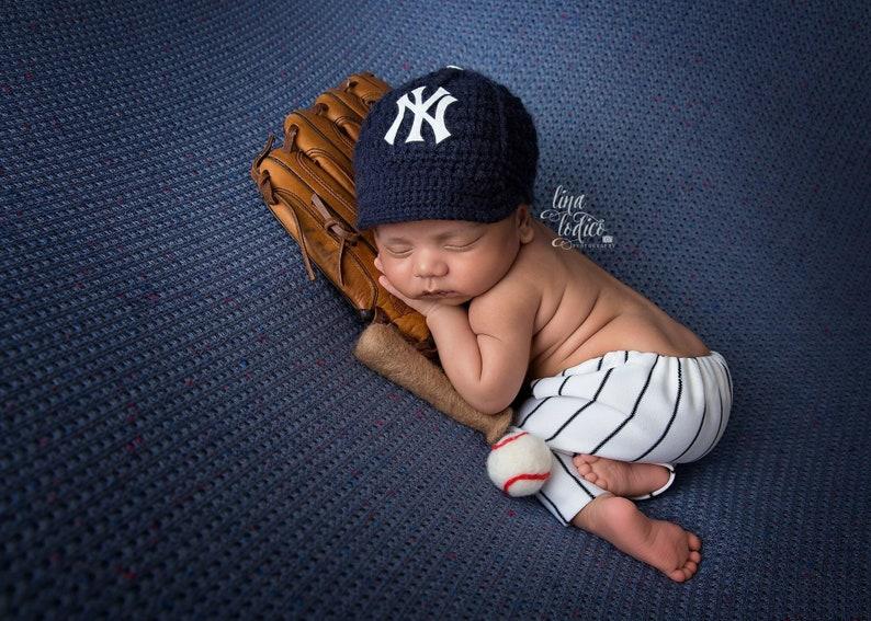 PRE-ORDER Newborn Baby Baseball Cap Baseball Hat New York  e30942125b2