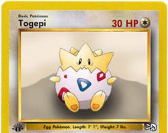 Togepi toy in side glycerin soap bar