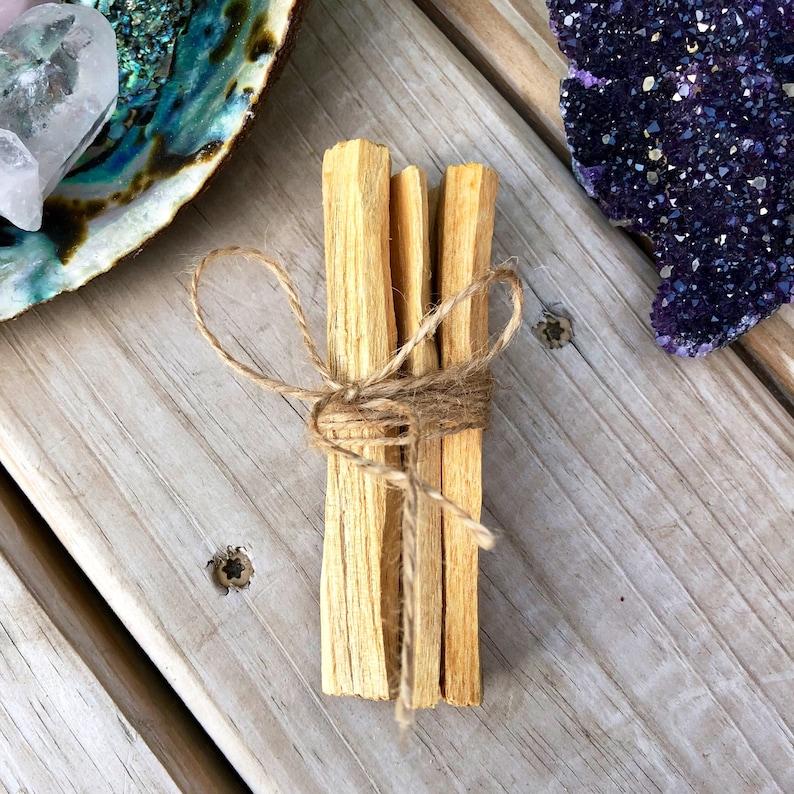 Palo Santo Bundle    Holy Wood    Spiritual Tools    Metaphysical     Meditation    Palo Santo Stick    Ritual Tools   
