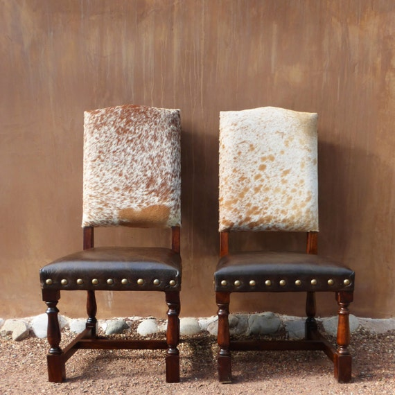 Admirable Colton Cowhide Chair Western Lodge Cowhide Dining Chair Bralicious Painted Fabric Chair Ideas Braliciousco
