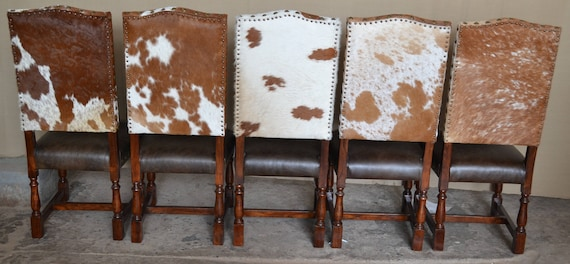 Astounding Colton Cowhide Chair Western Lodge Cowhide Dining Chair Bralicious Painted Fabric Chair Ideas Braliciousco