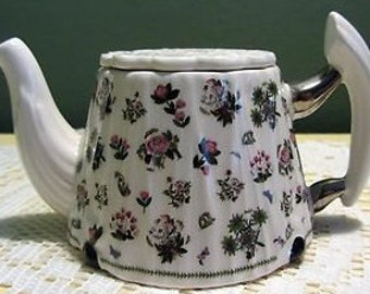 Collectable Small Portmeirion Floral Teapot