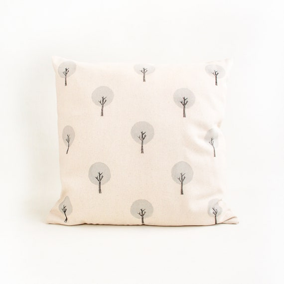 Grey Forest cushion