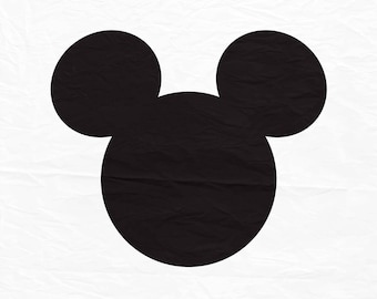 Mickey Mouse. Mickey Mouse SVG instant download design for cricut or silhouette.