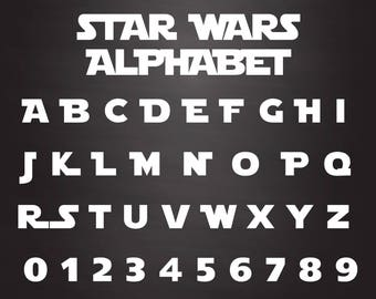 star wars font star wars alphabet star wars svg star wars cut files studio files cricut cut files svg fonts vector cut files