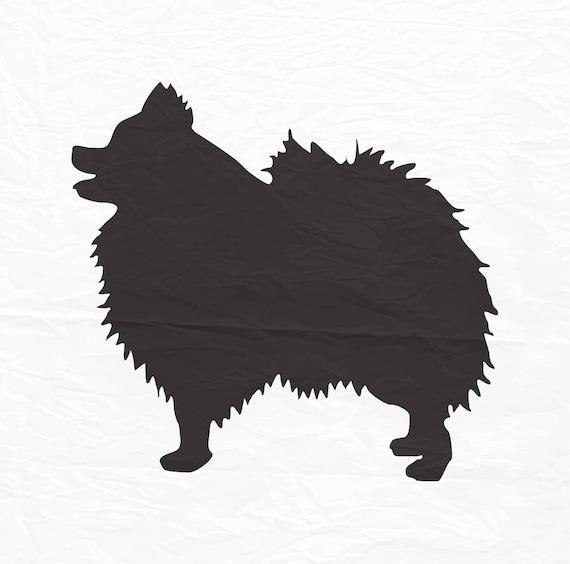 Pomeranian Dog Svg Pomeranian Dog Zentangle Swirl Pattern Etsy