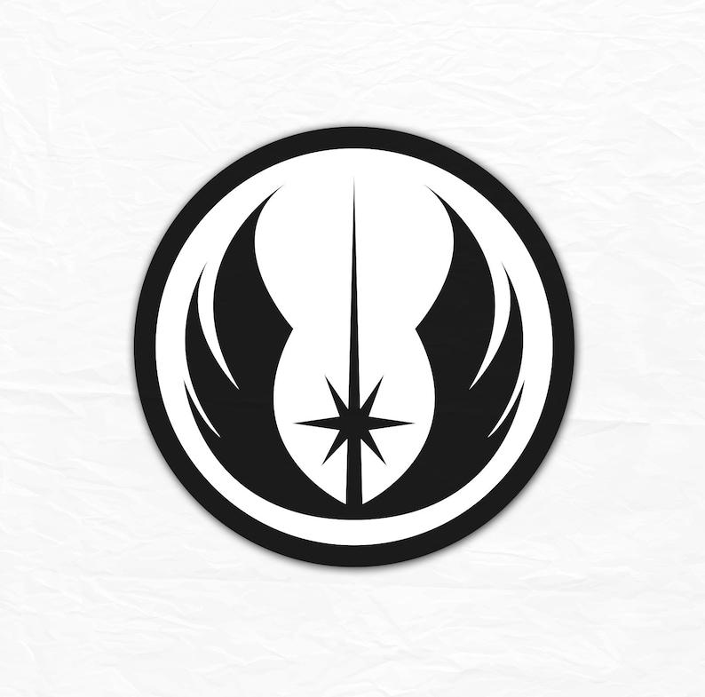 Star Wars Jedi Logo SVG Jedi order cut file printable | Etsy