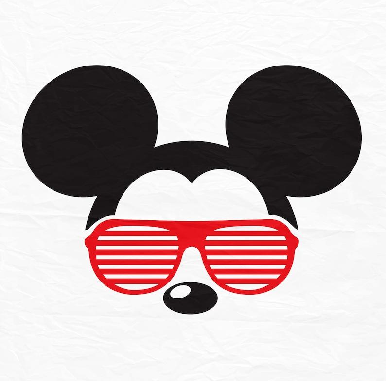 e575c2f511 Disney Mickey Mouse Sunglasses Icon Head Ears Digital