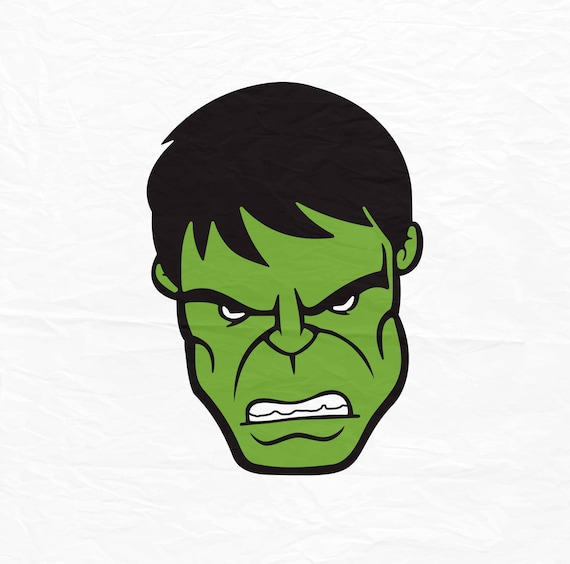 The incredible hulk face hulk face svg hulk face huk etsy image 0 maxwellsz