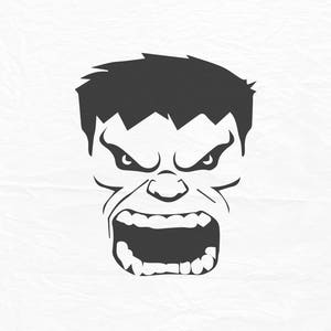 Hulk svg etsy the incredible hulk face hulk face svg hulk face huk vector design svg dxf eps maxwellsz