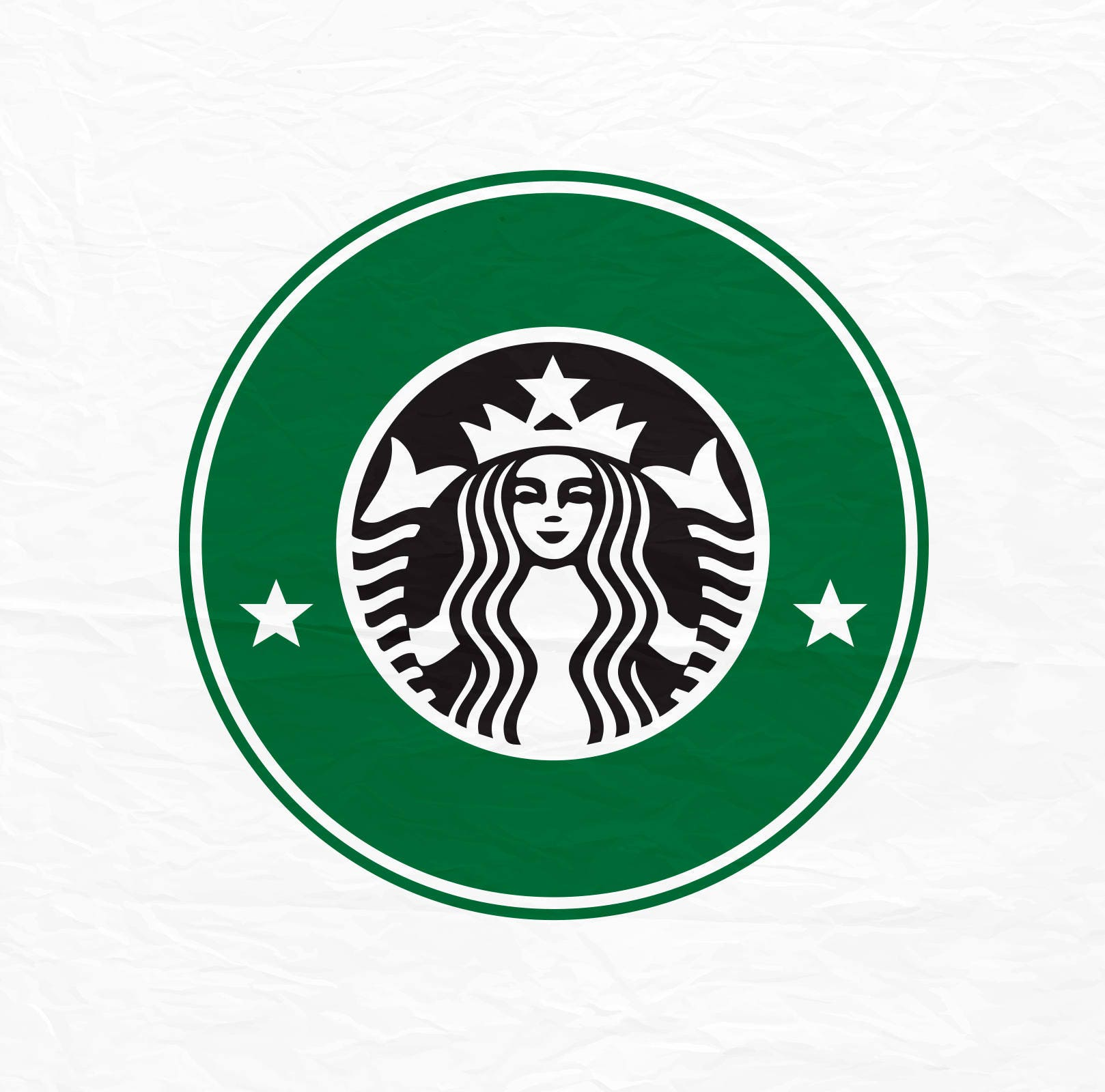 This is a graphic of Lively Starbucks Printable Logo
