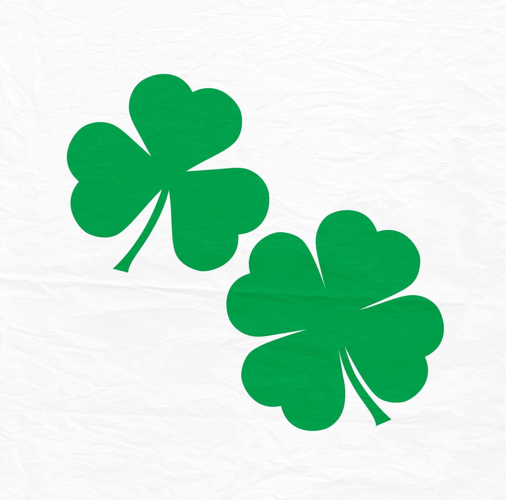 Saint Patricks Day Svg Clover Svg shamrock Svg Four Leaf ...