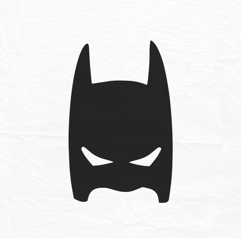 Batman masker svg batman masker superheld svg en dxf etsy - Masque de superman ...