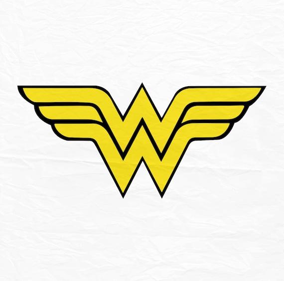 Wonder Woman Svg Superhero Svg Wonder Woman Sign Cricut Etsy