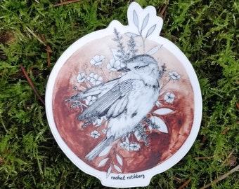 Afterlife: European Robin Sticker