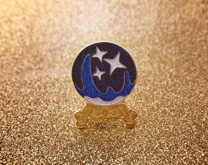 Crystal Ball Pin - Blue Edition