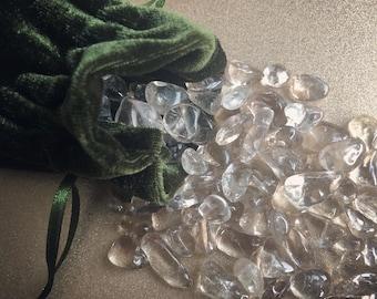 Magical Crystal Pouch - Smokey Quartz