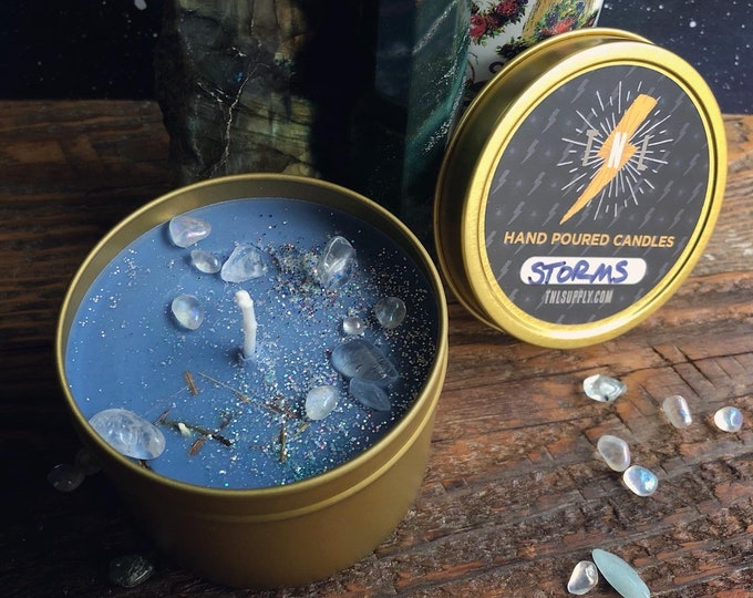 Storms Candle