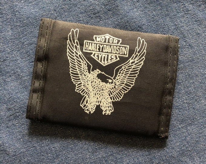 Vintage Harley Davidson Wallet