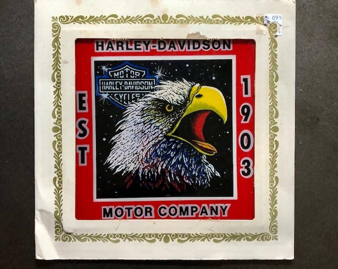 SUPER RARE Vintage Harley Davidson Mirror