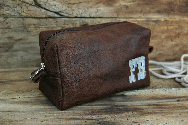 Toiletry Bag Men S Dopp Kit Travel Bag Shaving Bag Men Etsy