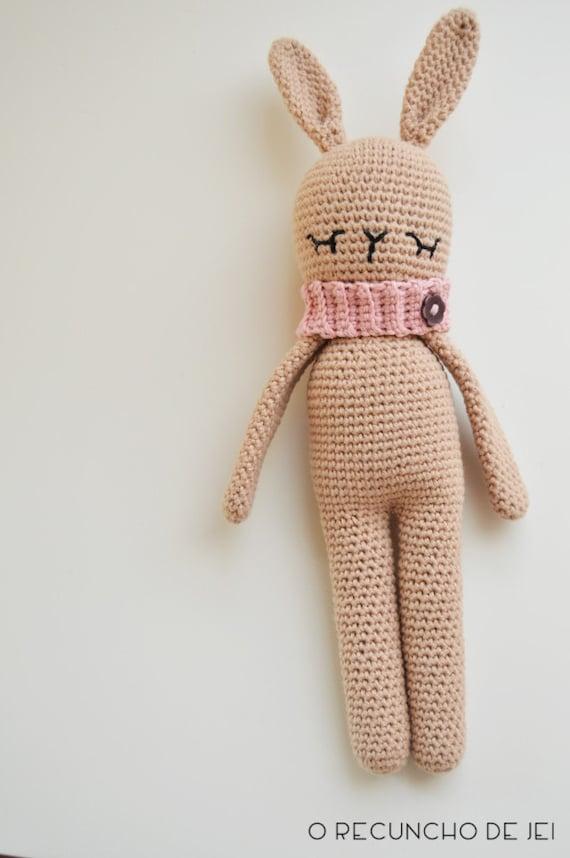 Patrón Conejo AmigurumiPatrón Conejo Crochet Rabbit   Etsy