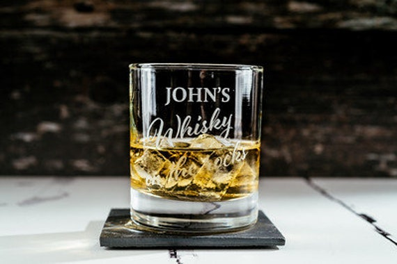 Personalised Engraved Whisky Glass With Any Name