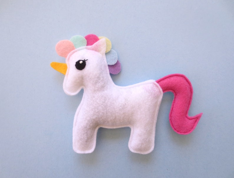 Cat toys Catnip Unicorn  Catnip toy for cat gift for cat lover image 0