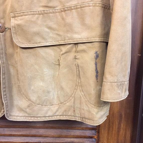 """Vintage 1930's """"Drybak"""" Label Hunting Jacket, Can… - image 8"""